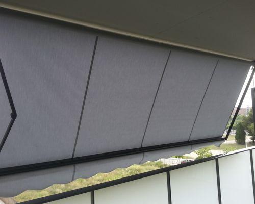 Toldo extensible para balcón