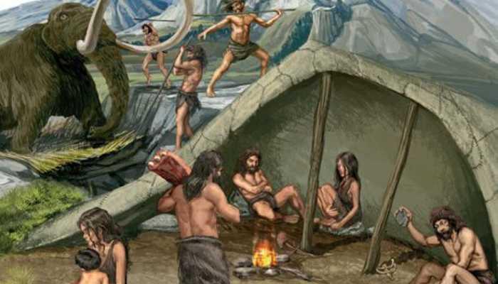 Toldos en la prehistoria