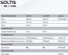 Ficha técnica Soltis 96 1103 Blanco roto