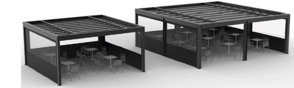Toldo terraza 120 x 120