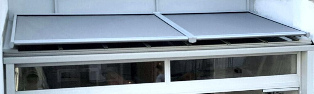 Toldo veranda para lucernarios